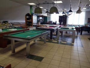 Nové biliardové stoly u nás na predajni