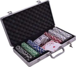 Poker kufrík Alu