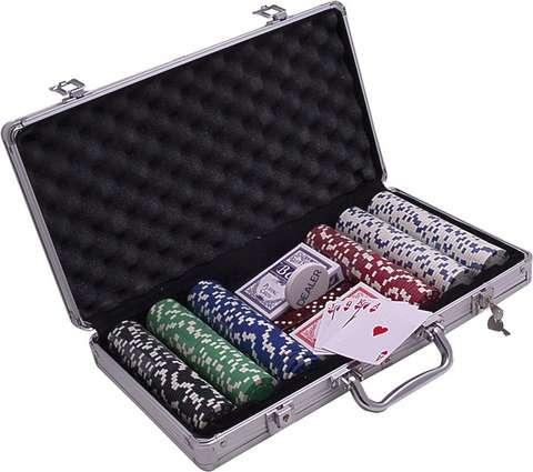 Poker kufrík ALU 300
