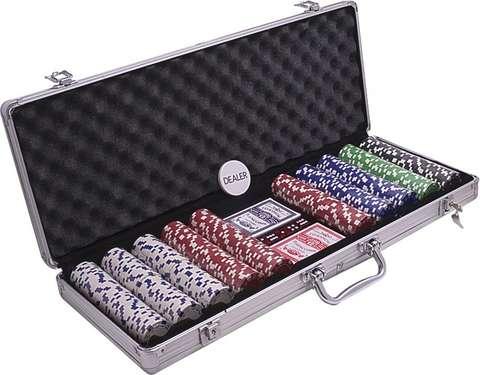 Poker kufrík Alu 500