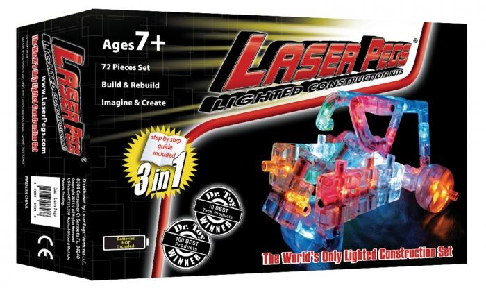 Laser Pegs 3v1