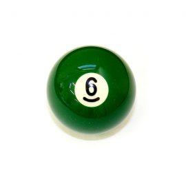 Biliardová guľa pool č.6