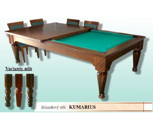 Biliardový stôl Kumarius jedálenský stôl