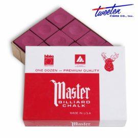 Biliardová krieda Master červená 12ks