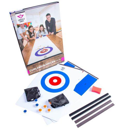 Curling 2v1 rodinná hra