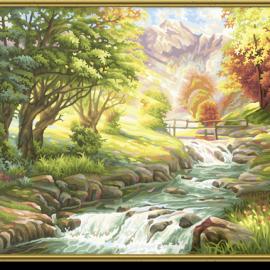Pstruhový potok (40 x 50 cm)
