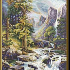 Vo veľhorách (40 x 50 cm)