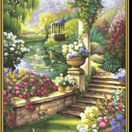 Záhradný raj (40 x 50 cm)