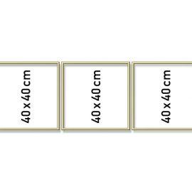 Hliníkový rám Triptych