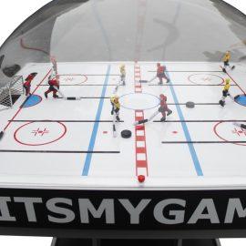 Stolný tiahlový ľadový hokej s kopulou