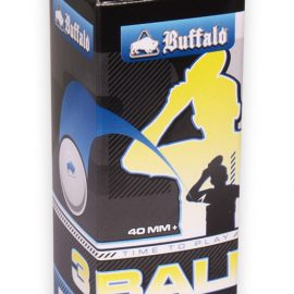 Pingpongová loptička 3ks Buffalo 3*