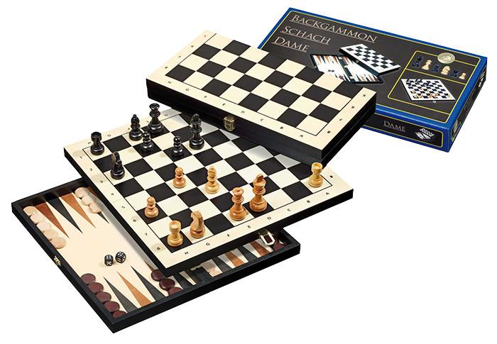 Šachy, Backgammon, dáma Philos