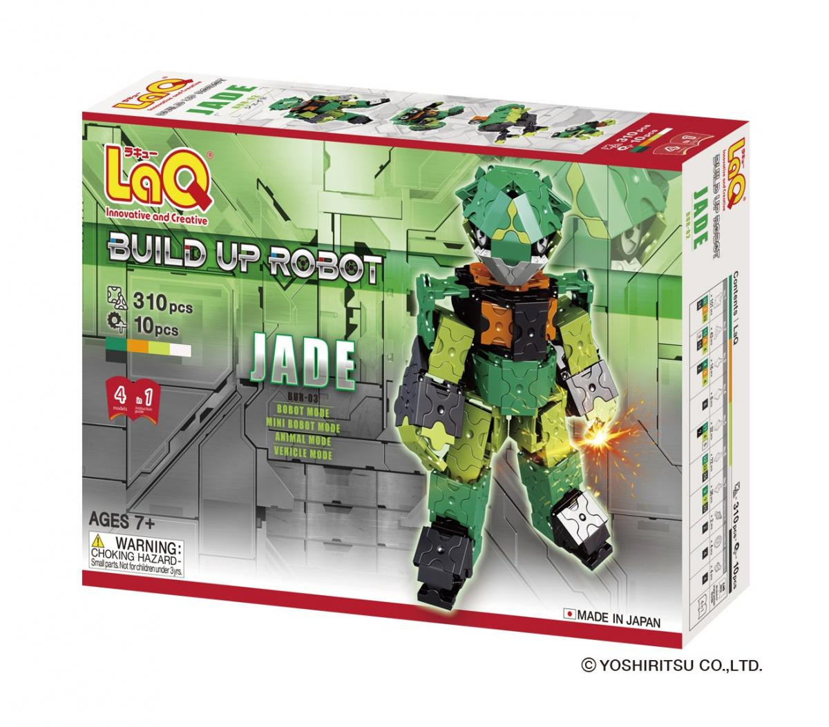 LaQ Build-up Robot Jade