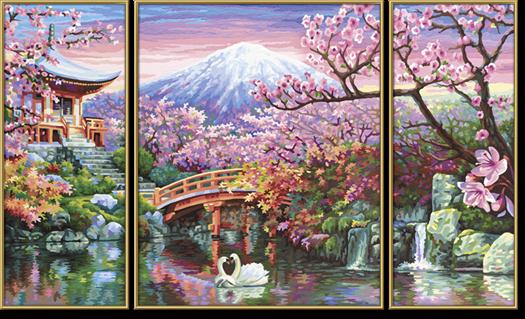 Čerešňové kvety v Japonsku