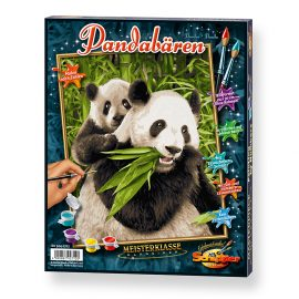 Medvedíky Panda (24 x 30cm)