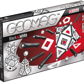 GEOMAG Black – White 104 pcs
