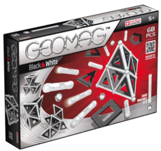 GEOMAG Black - White 68 pcs