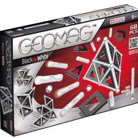 GEOMAG Black – White 68 pcs