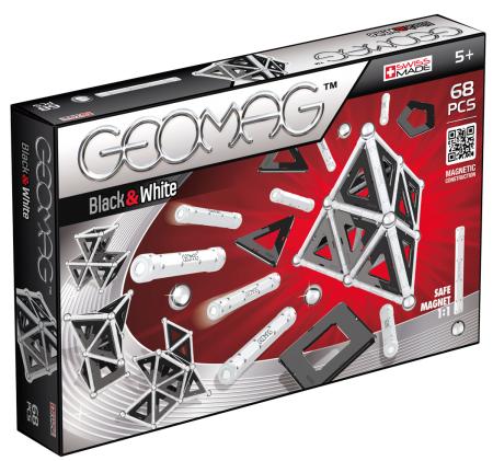GEOMAG Black - White 68 pcs