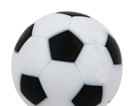Futbalová loptička biela