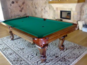 biliardový stôl Barok