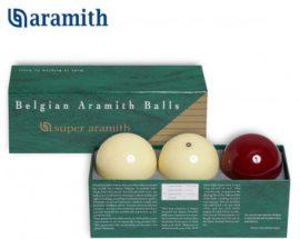 Gule karambolové Aramith de Luxe 3 ks – sada