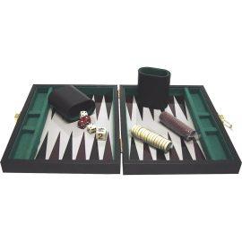 Backgammon čierny 34,5 x 17 cm