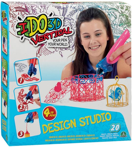 3D pero IDO Vertical kreatívne
