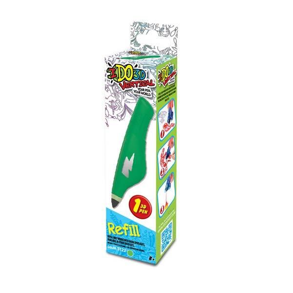 3D pero IDO náplň zelená