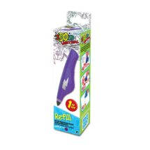3D pero IDO náplň fialová