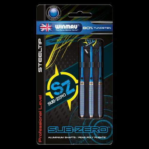 Steelové šípky Sub Zero 80% 21g