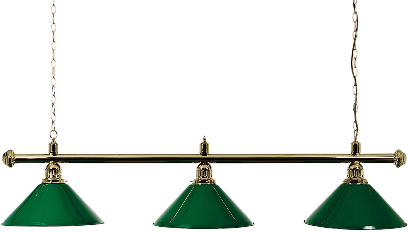 Lampa L/3 De Lux zelená