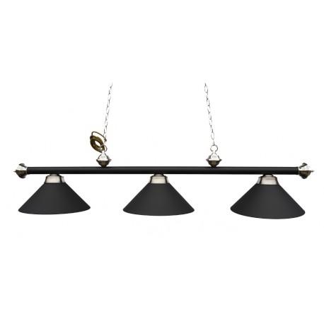 Lampa Antik L/3 čierna