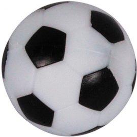 Futbalová loptička čierno-biela