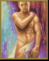Akt Muža (40x50cm)