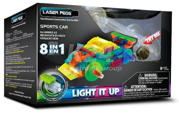 Laser Pegs Sports Car