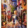 Romantická alej maľovanie podľa čísiel Schipper