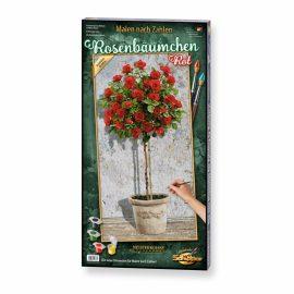 Stromčeková ruža červená (40 x 80 cm)