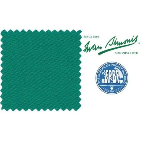 Biliardové plátno Simonis 860 blue green