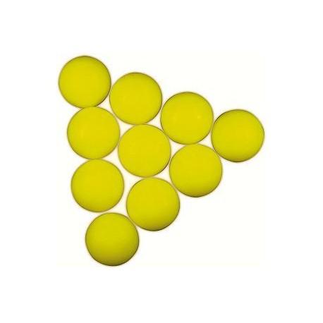 Futbalová loptička žltá