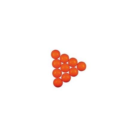Futbalová loptička oranžová