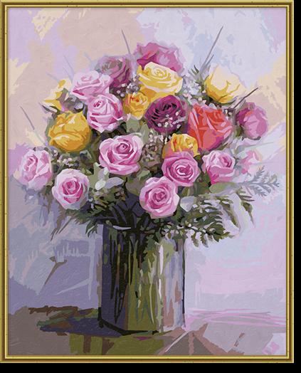 Pastelové ruže
