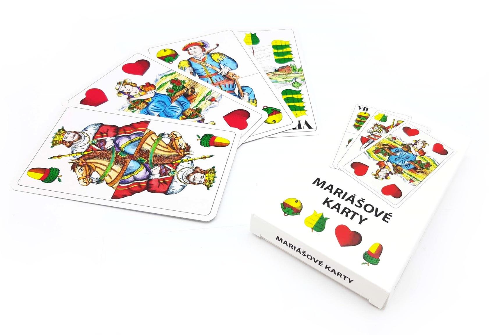 Mariášové karty papier
