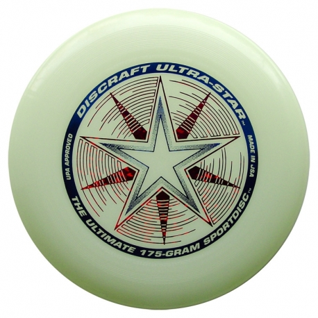 Frisbee Discraft UltraStar Night Glow 175gr.