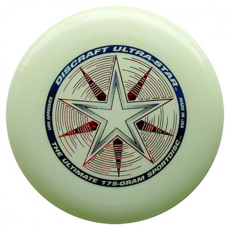 Frisbee Discraft UltraStar Night Glow 175gr.