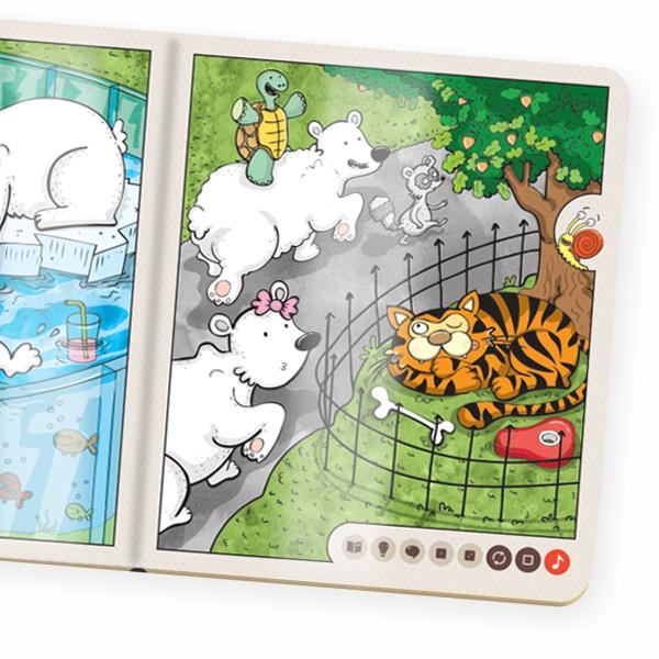Kniha Zvieratká v ZOO