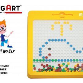 Magnetická kreatívna tabuľka MagArt