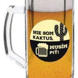 Pivný pollitrák Nie som kaktus