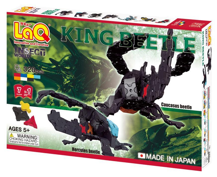 King Beetle LaQ stavebnica