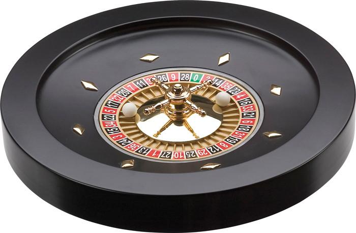 Drevená ruleta 36cm black